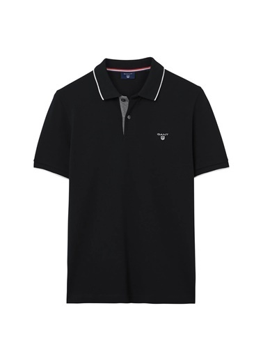 Gant Polo Yaka Tişört Siyah